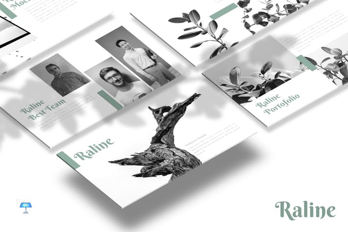 Cover Image For Raline - Keynote Template