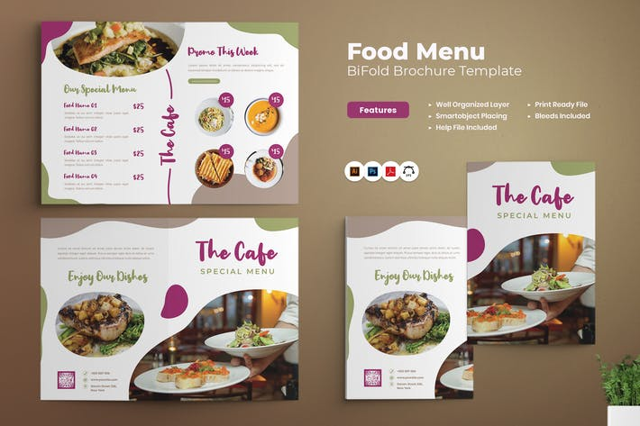 Food Bifold Brochure