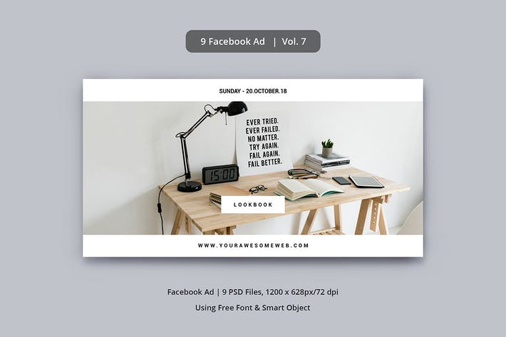 Cover Image For Facebook Ad Vol. 7