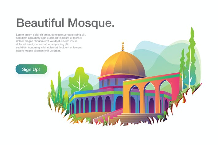 Thumbnail for Beautiful Mosque