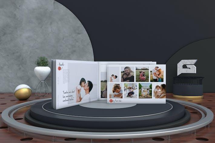 Thumbnail for Modèle d'album de souvenirs de famille