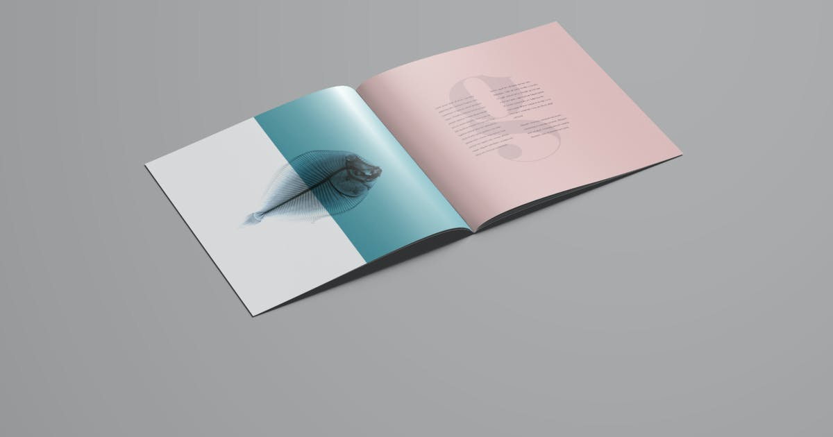 Download Square Brochure Mockup by blugraphic0