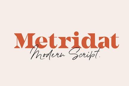 Metridat Fonts DUO Set