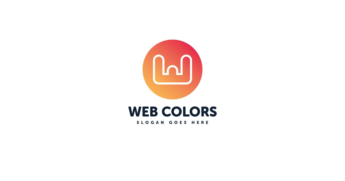 Download Web Colors W Letter Logo Vector Template by Pixasquare