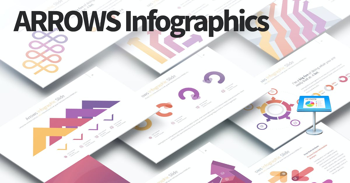 Download ARROWS - Keynote Infographics Slides by Unknow