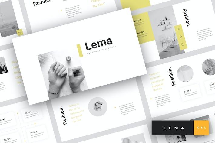 Lema - Fashion Google Slides Template