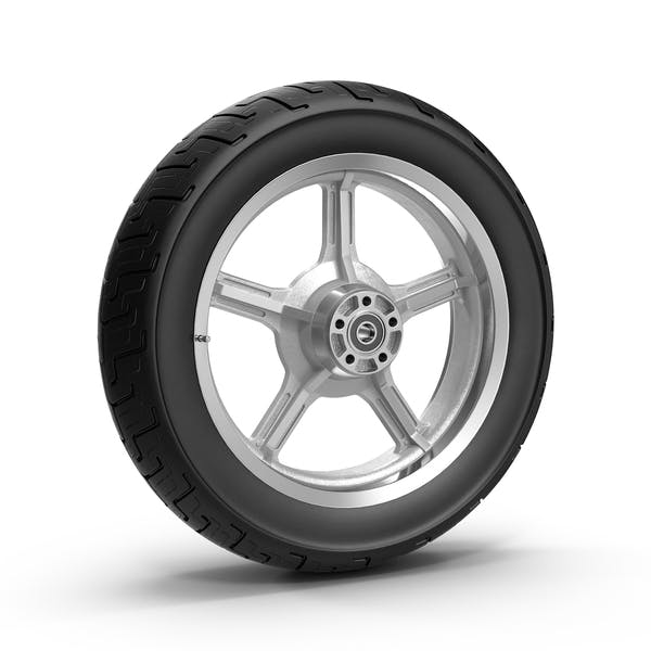 Cover Image for Motorcycle Wheel
