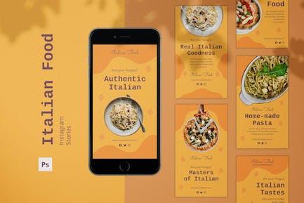 Italian Food Instagram Stories