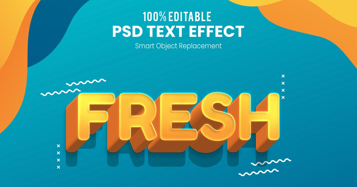 Download Fresh - Fun 3d Text Effect by nathatype