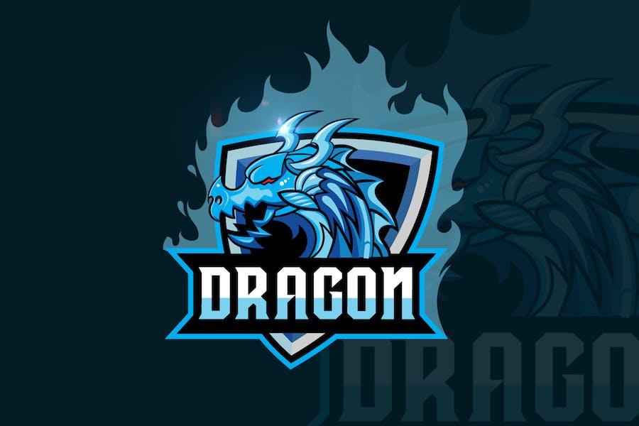 Dragon Mascot & eSports Gaming Logo