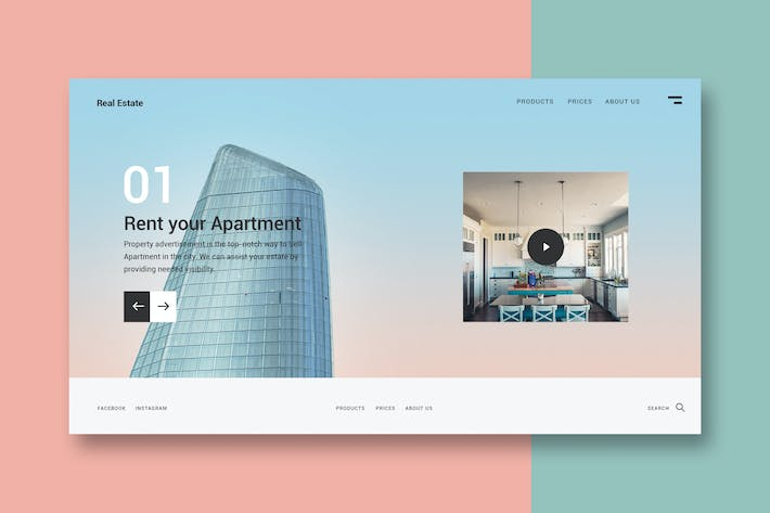 Thumbnail for Rent your Apartment - Landing Page