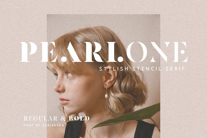 Pearlone - PoSerif élégant