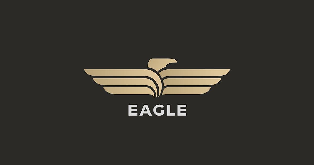 Download Eagle Bird Logo Luxury Wings by Sentavio