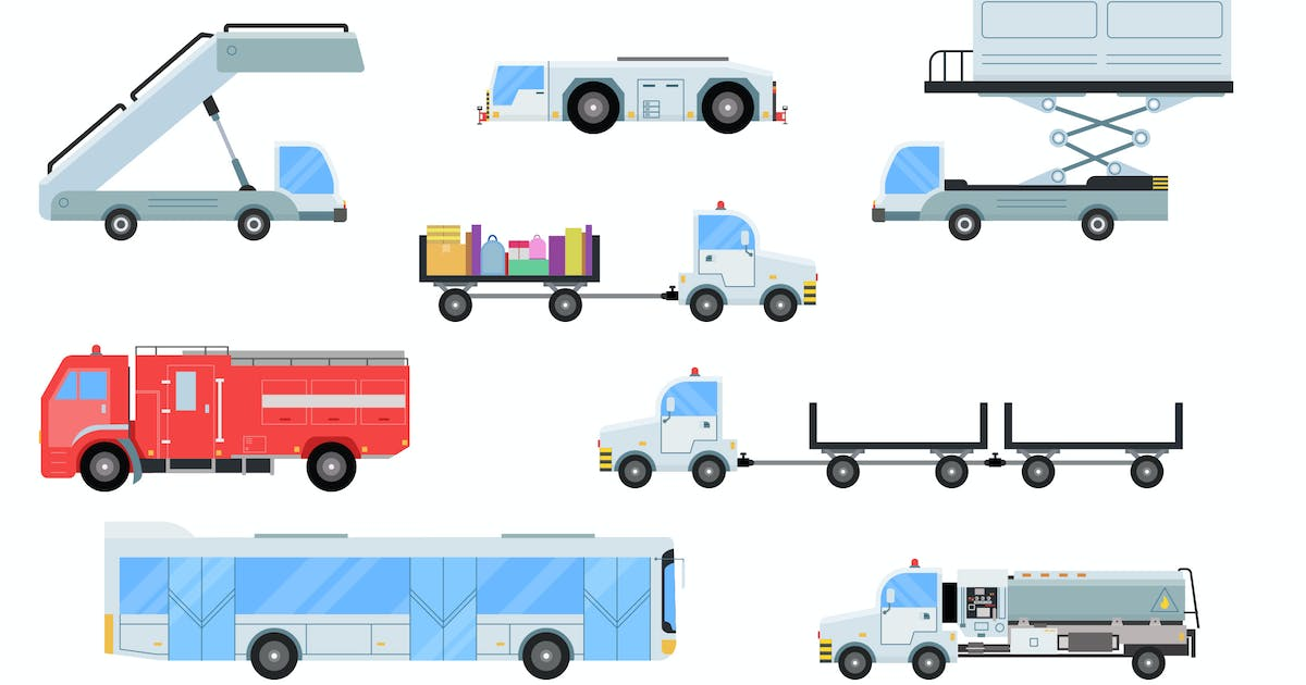 Download Airport Vehicles by vintagio