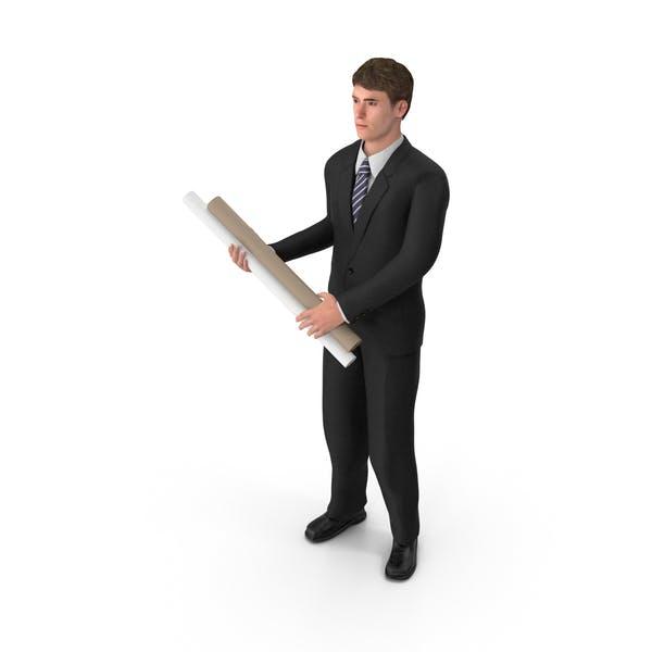 Thumbnail for Businessman John Holding Plans