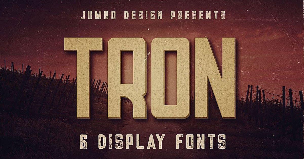 Tron - Display Font by cruzine