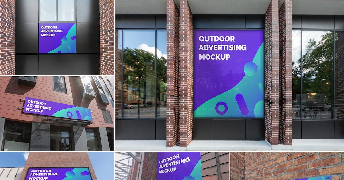 Download Outdoor Advertising Mockups Vol. 4 by MintMockups