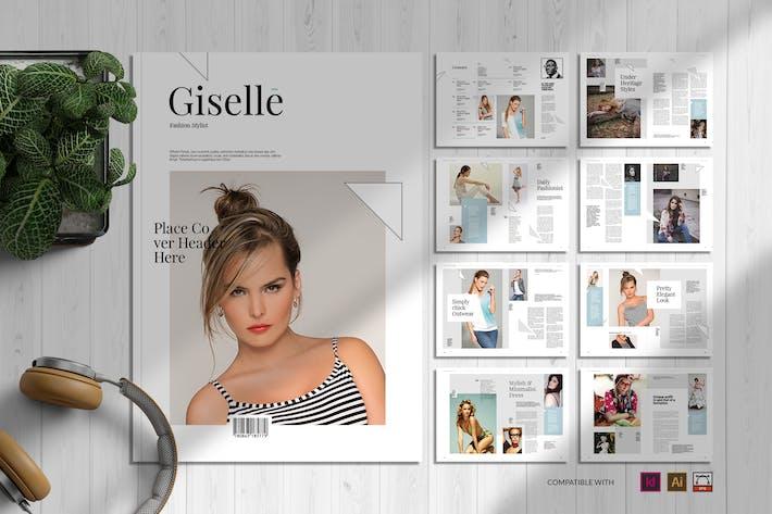 Thumbnail for Giselle | Magazine Template