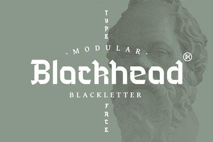 Blackhead Typeface|Medieval Font