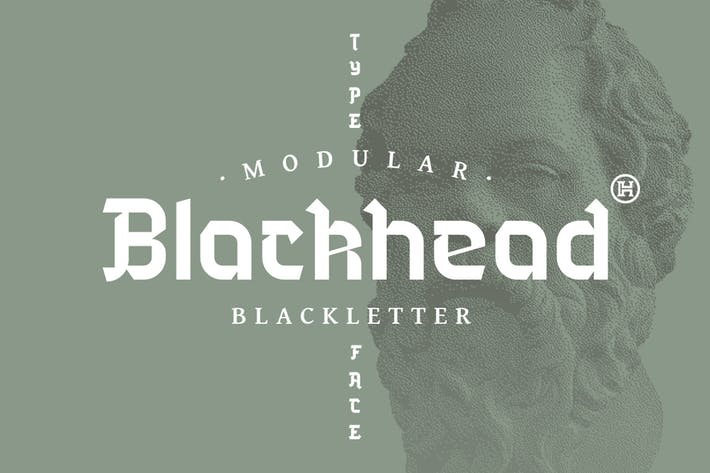 Thumbnail for Blackhead Typeface