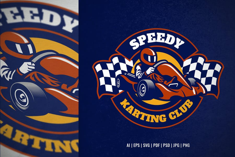 Karting Race Club Logo