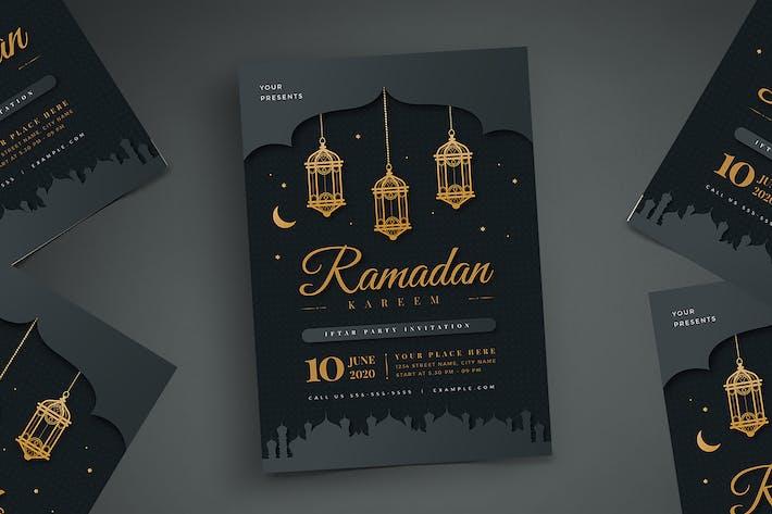 Thumbnail for Ramadan Kareem Iftar Party Flyer 01