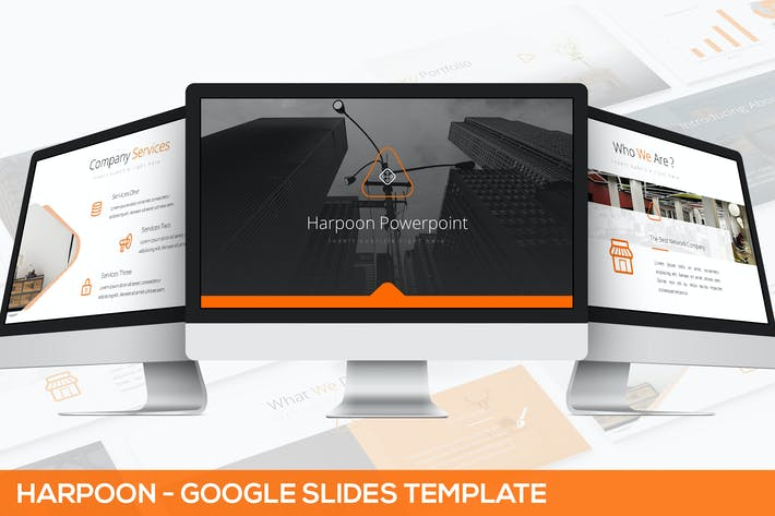 Thumbnail for Harpoon - Google Slides Presentation Template