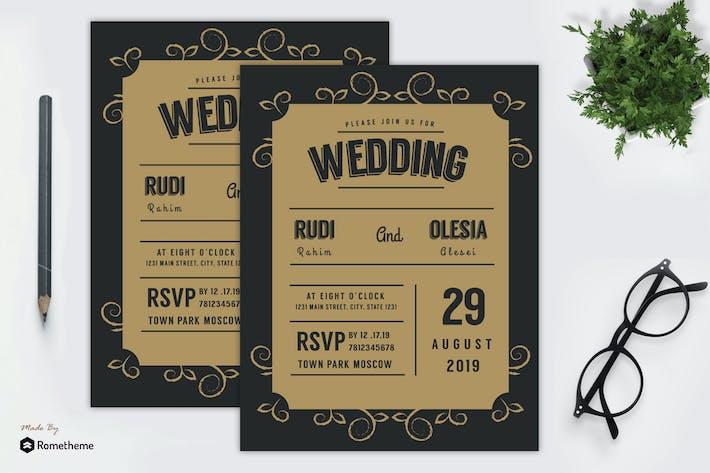 Thumbnail for Wedding Invitation vol. 09 MR