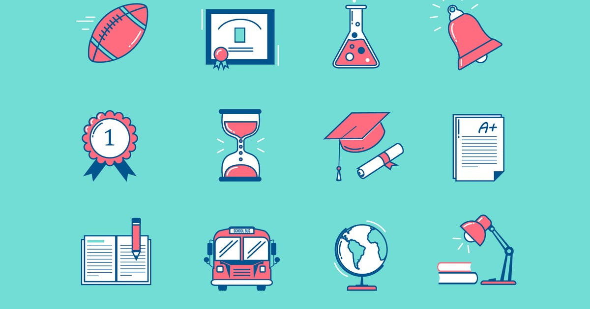 Download School Education Icons by Jumsoft
