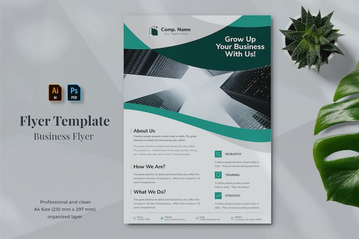 Thumbnail for Business Flyer Template 1.8