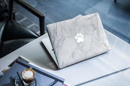 MacBook Skin Mock-Up