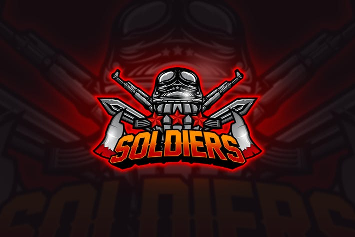 Thumbnail for Soldier - Mascot & Esport Logo