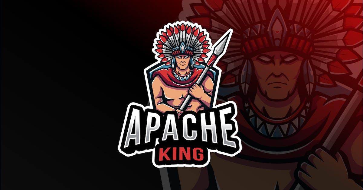 Download Apache King Esport Logo Template by IanMikraz