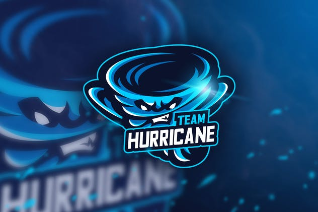 Hurricane Team - Mascot & Esport Logo