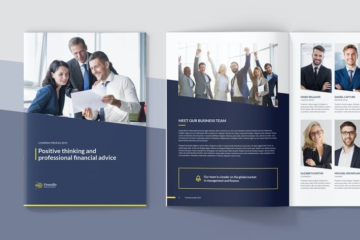 Cover Image For FinancBiz – Company Profile