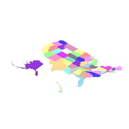 США Карта