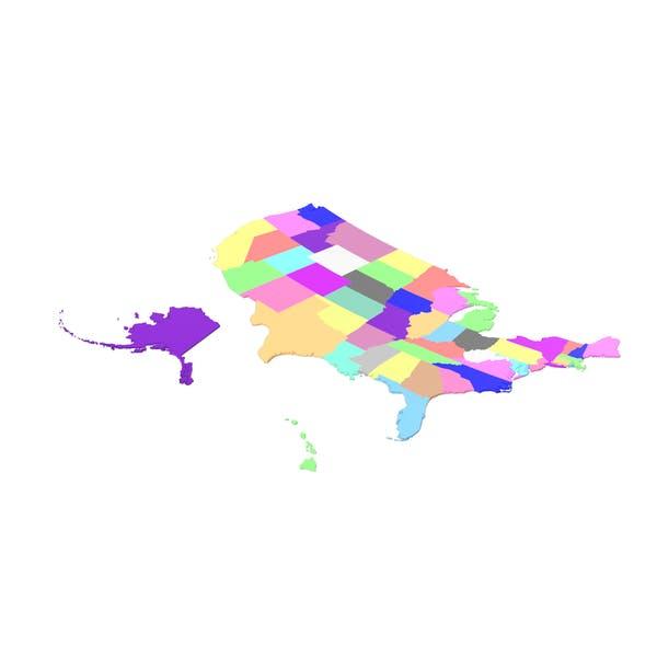 Thumbnail for USA States Map