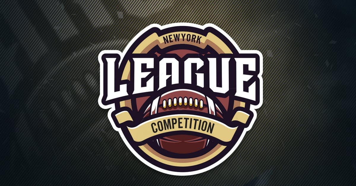 Download New York League Competition Sports Logo by ovozdigital
