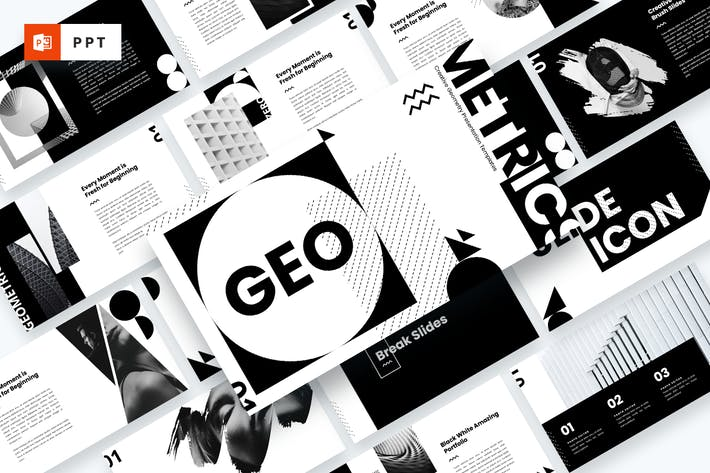 GEO - Creative Geometry Powerpoint Template