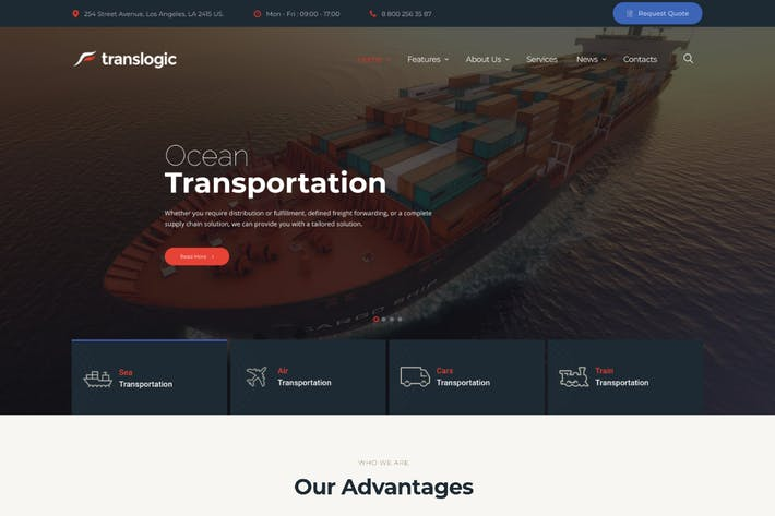 Thumbnail for Translogic | Logistics & Shipment Transportation