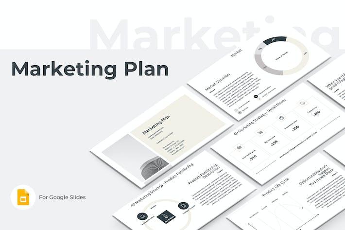 Thumbnail for Marketing Plan Google Slides Presentation Template