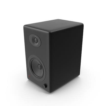 Schwarzer Lautsprecher
