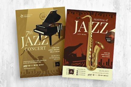 Classical Jazz Music Festival Flyer