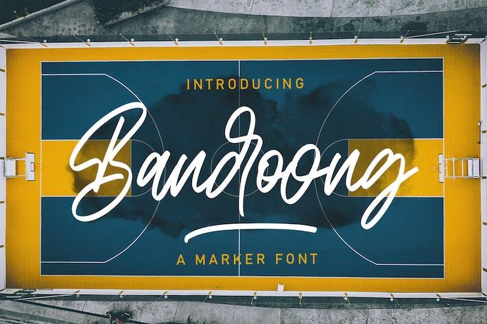 Thumbnail for Bandoong | Modern Script Font