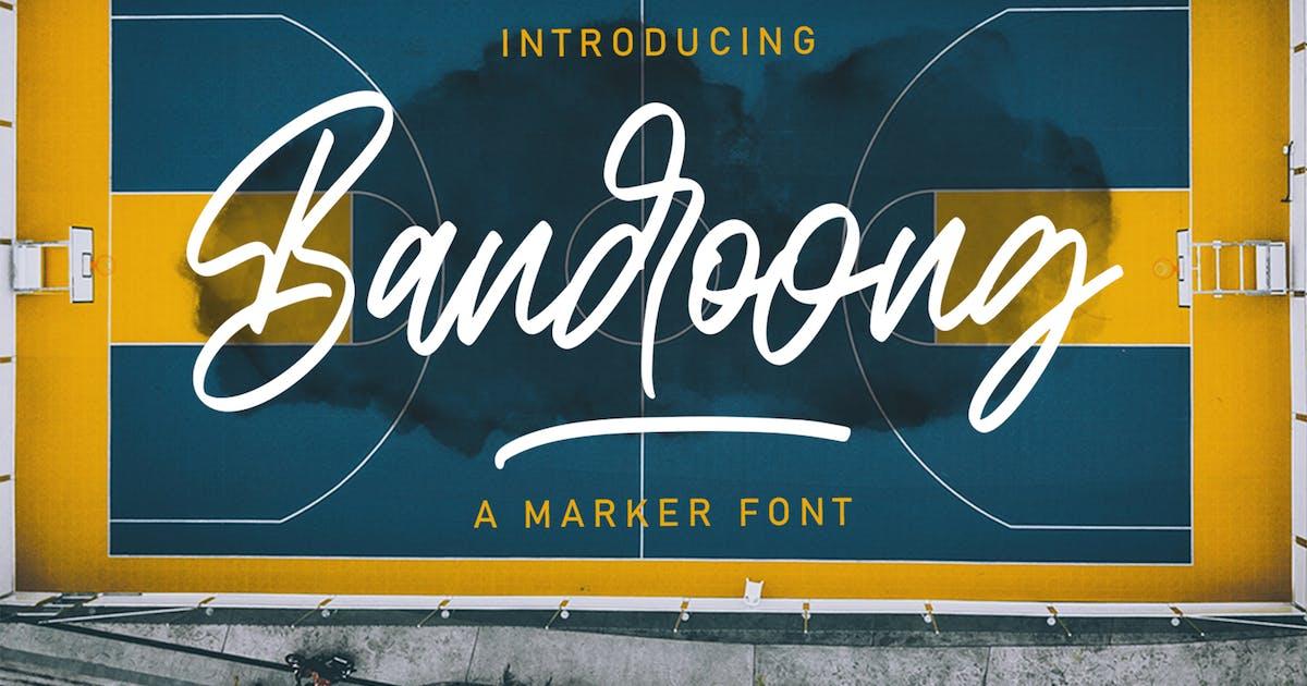 Download Bandoong | Modern Script Font by arendxstudio