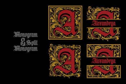 Monogramm A