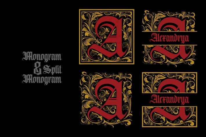 Cover Image For Monogram A