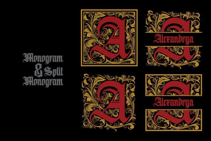 Monogram A