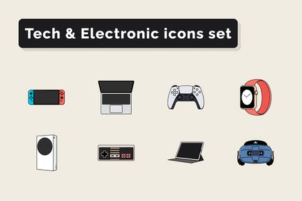 Tech & Electronic Technology icons