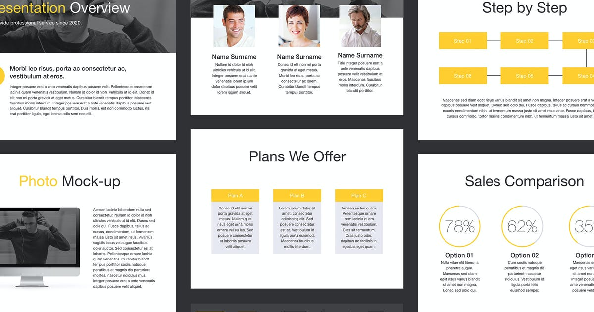 Download Trend PowerPoint Template by Jumsoft